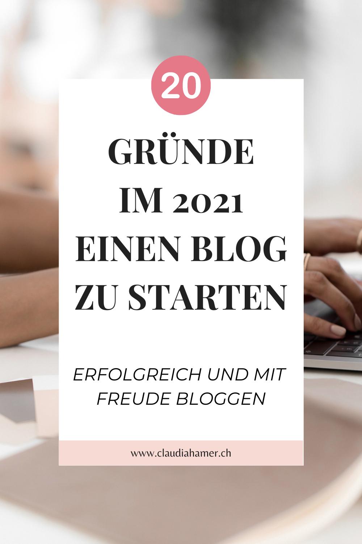 Warum Bloggen? 20 Gründe einen Blog zu starten.