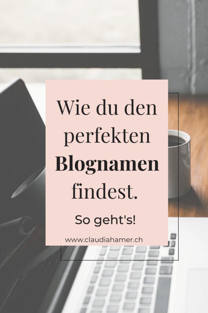 Wie du den perfekten Blognamen findest