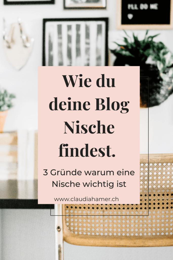Wie du deine Blog Nische findest