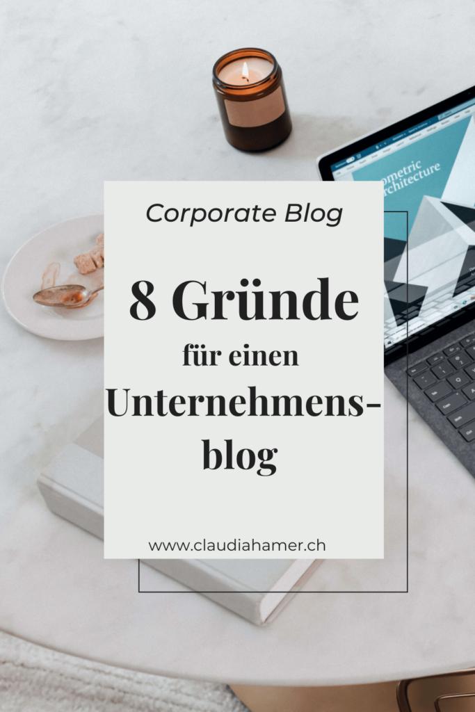 Gründe für einen Unternehmensblog