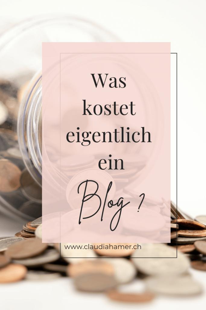 Blog Kosten - Was kostet ein Blog?