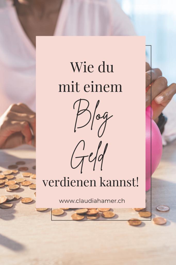 Wie du mit einem Blog Geld verdienen kannst!