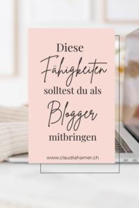 Fähigkeiten Blogger
