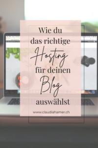 Hosting für Blog auswählen