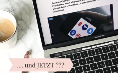 Facebook, Instagram und WhatsApp sind (waren) down – und JETZT?